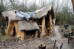 Hermit who lives in a mud hut in Merry Hill Forest is