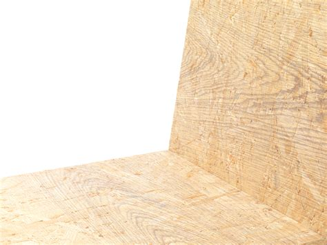 print laminate print chair by nendo combines different wood grain patterns into one motif