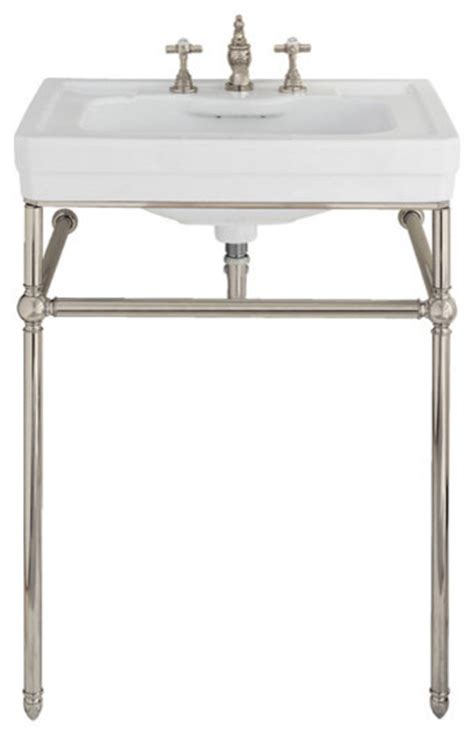 American Standard Retrospect Sink And Washstand by Sink Metal Console Native Home Garden Design