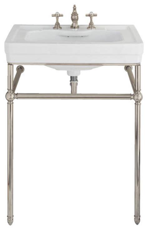 Lutezia 28 Inch Console Lavatory Sink By Porcher