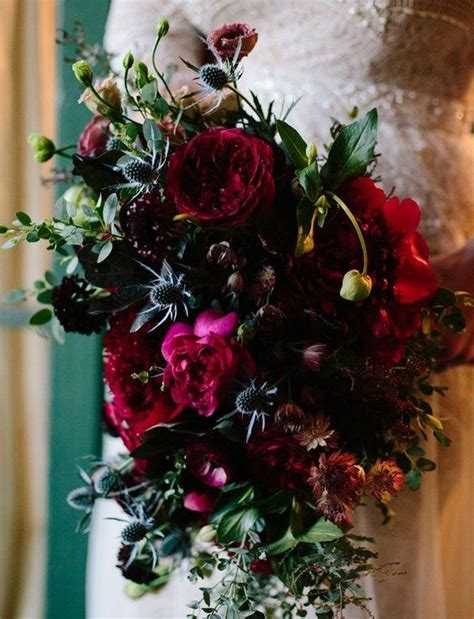 top  moody wedding bouquets   trends page