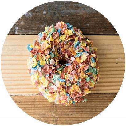 Donut Fruity Menu Bar Pebbles Pebble