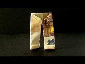 Geldscheine Falten Baum : geldscheine falten hose origami kleidung geld falten ~ Lizthompson.info Haus und Dekorationen