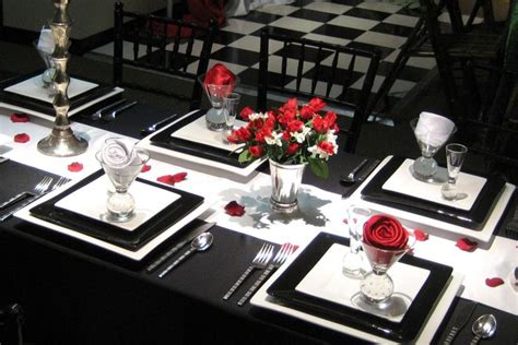 black and white dinner table setting elegant dining room table setting simple table settings