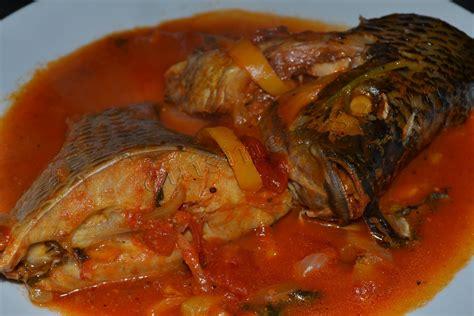 recette cuisine africaine lanmoumou dessi sauce de poisson frais fresh fish soup