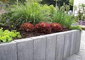 Hochbeet Zum Gemseanbau Haltbare Betonpalisaden