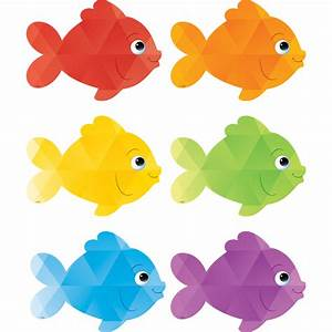 Colorful Fish Accents - TCR3549 Teacher Created Resources