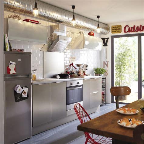 cuisines delinia meuble de cuisine décor aluminium delinia stil leroy merlin