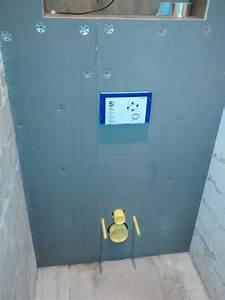 Wedi Platten Außenbereich : wedi plaat als achterwand voor hang toilet ~ Markanthonyermac.com Haus und Dekorationen