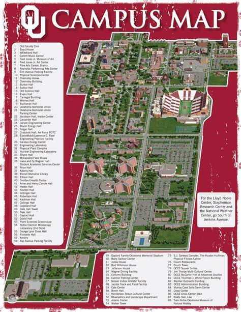 ou campus oklahoma campus map oklahoma city photo