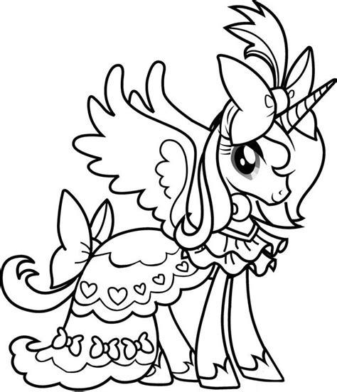 my pony para colorear e imprimir