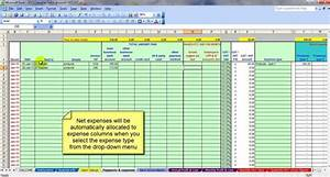 monthly expenses excel template accounting spreadsheet With monthly accounts excel template