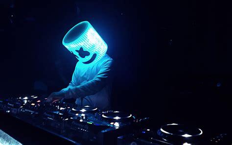 Download Wallpapers Marshmello, 4k, Dj, Night Club