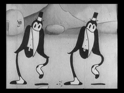 rubbery cartoon dancing