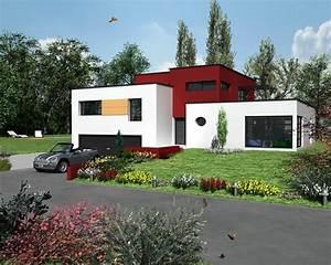 Maison Moderne Toit Plat : cuisine raisons d 39 opter pour une maison au toit plat ~ Nature-et-papiers.com Idées de Décoration