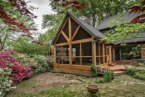 Cedar, Screened, Porch, Addition
