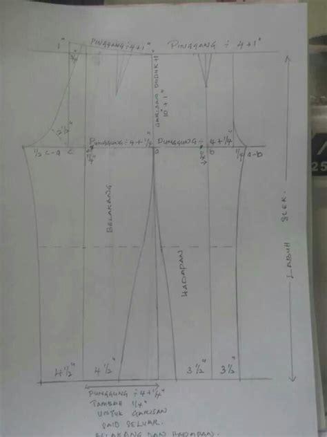 sumiyati dress seluar slek seluar in 2018 patterns
