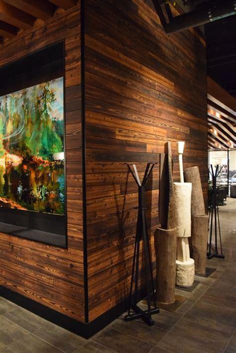 resawns tora shou sugi ban charred wood cypress interior