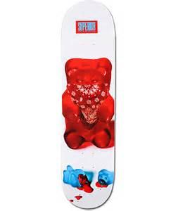 superior skateboards thuggy bear 8 0 quot skateboard deck zumiez
