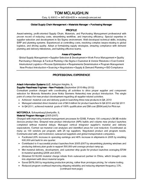 supply chain analyst resume inspiredshares
