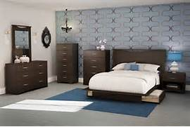 Bedroom Furniture Images South Shore Contemporary Bedroom Furniture Set With Wooden Nightstand