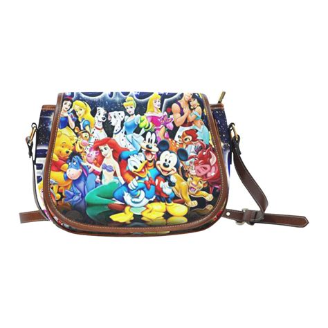 mermaid mickey mouse snow white saddle bag crossbody shoulder bag purse ebay
