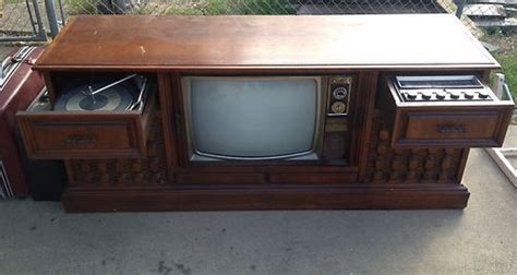 vintage tv stereo cabinet vintage tv radio stereo tube record player phonograph