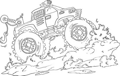 printable truck coloring pages