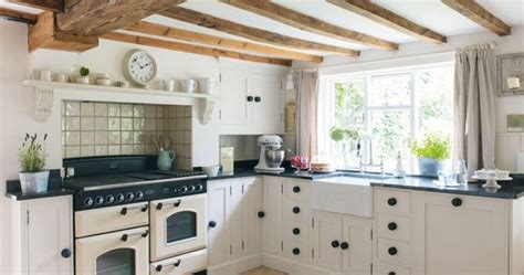 An Th-century Farmhouse Kitchen In The English