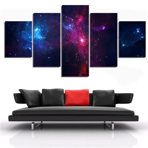 panel outer space canvas art multi canvas art