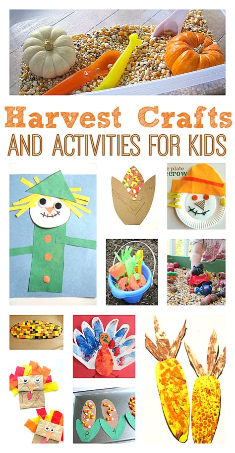harvest crafts amp activities no time for flash cards 295 | harvest crafts and activities for kids