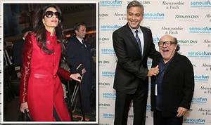 George Clooney swaps beautiful wife Amal for pint-sized ...