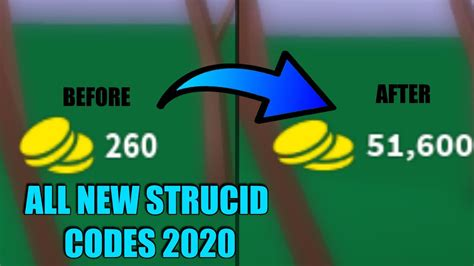 strucid  working codes march  youtube
