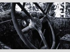 Old steering wheel High Intensity Fine Art Photography