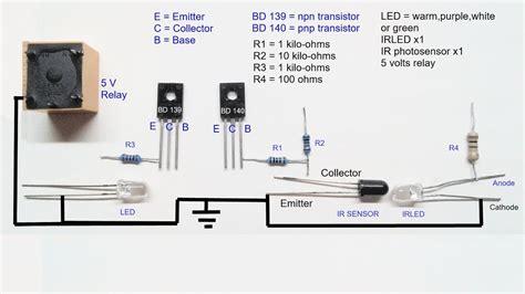 Infrared Proximity Sensor Circuit Diagram Youtube