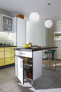 Ilôt De Cuisine : un lot central bien int gr dans cette cuisine au style ~ Teatrodelosmanantiales.com Idées de Décoration