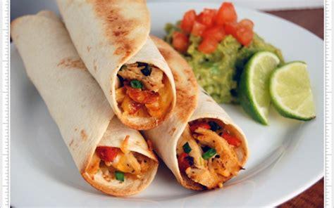 cuisine mexicaine tortillas recette burritos mexicains mix grill économique et facile