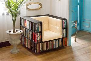 Unique book storage ideas for decorate your apartment for Unique book storage ideas for decorate your apartment