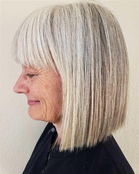 50 Gray Hair Styles Trending in 2020 Bobbed hairstyles
