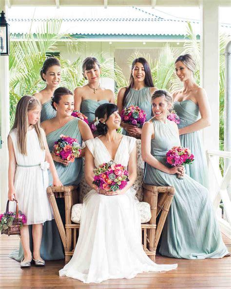 wedding hairstyles   bridesmaids martha stewart