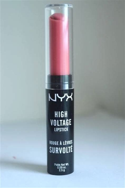 nyx high voltage lipstick sweet 16 review