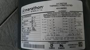 Marathon Electric Hd52ak653    5k49zn6391s Carrier