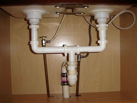 install kitchen sink plumbing http