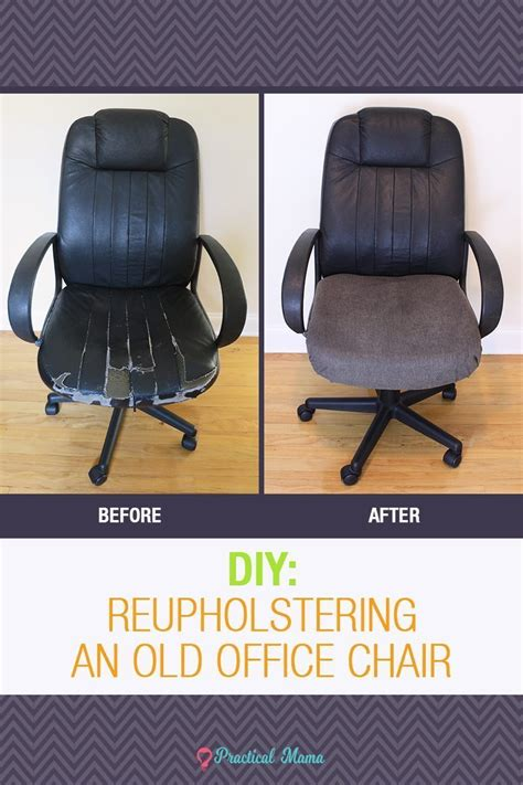 In Home Reupholstering by Diy Reupholstering The Office Chair