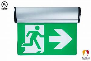 China Ul Listed Emergency Lighting System Led Exit Sign