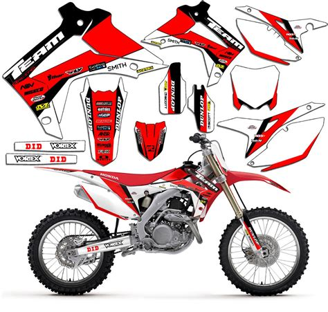 2013 2017 honda crf 50 graphics kit decals stickers deco crf50 2014 2015 2016 ebay