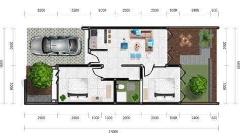 gambar desain rumah sederhana  elegan contoh