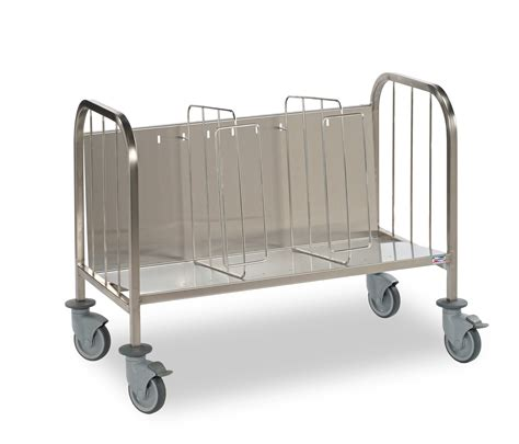 porte assiettes pour cuisine chariot porte assiettes en inox 400 mjpro restauration collective equipement fournitures