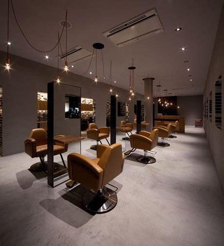 minimalist barbershop salon interior design hair salon