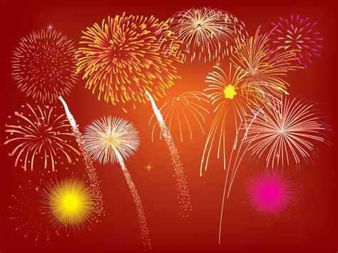 fireworks design powerpoint templates christmas